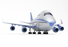 Vliegtuigenperspectief Royalty-vrije Stock Fotografie