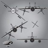 Vliegtuigenreeks Stock Fotografie