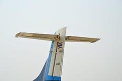 Vliegtuigenstaart Stock Afbeeldingen