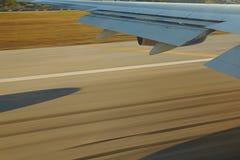 Vliegtuigenvenster stock foto's