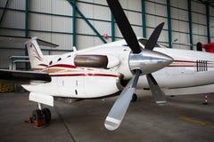 Vliegtuigenvleugel royalty-vrije stock fotografie