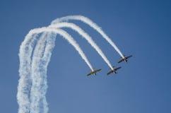 Vliegtuigenwedstrijd Stock Afbeeldingen