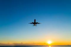 Vliegtuigglijdende beweging Royalty-vrije Stock Fotografie