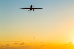 Vliegtuigglijdende beweging Royalty-vrije Stock Afbeelding