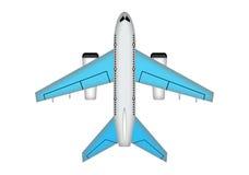 Vliegtuigillustratie Royalty-vrije Stock Afbeeldingen