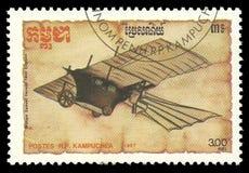 Vliegtuigmodellen, William Henson royalty-vrije stock foto