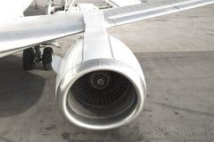 Vliegtuigmotor royalty-vrije stock afbeeldingen