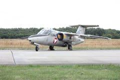 Vliegtuigparkeren Royalty-vrije Stock Fotografie