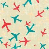 Vliegtuigpictogram Stock Foto's