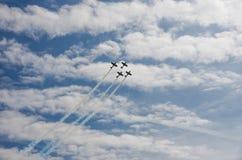 Vliegtuigprestaties Stock Fotografie