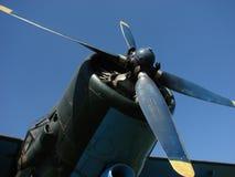 Vliegtuigpropeller Stock Foto