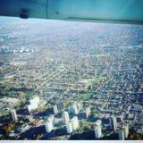Vliegtuigstarende blik royalty-vrije stock fotografie