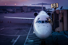 Vliegtuigterminal Royalty-vrije Stock Afbeeldingen