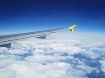 Vliegtuigvleugel Royalty-vrije Stock Foto