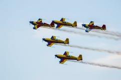 Vliegtuigvorming Stock Foto