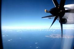 Vliegtuigwijze Royalty-vrije Stock Foto's