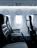 Vliegtuigzetels Royalty-vrije Stock Foto