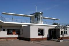 Vliegveld Stock Foto