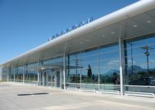 Vliegveld royalty-vrije stock afbeelding