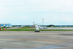 vliegveld Stock Afbeelding