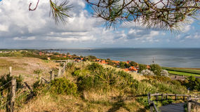 Vlieland und Waddensea, Holland stockfotos