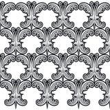 Vlinder 1 van het patroon stock illustratie