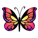 Vlinder 15 stock illustratie