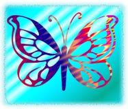 Vlinder 17 vector illustratie