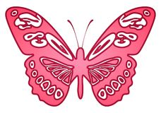 Vlinder 21 royalty-vrije illustratie