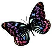 Vlinder 4 royalty-vrije illustratie