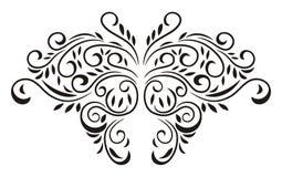 Vlinder Bloemen Royalty-vrije Stock Afbeelding