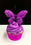 Vlinder cupcake Stock Fotografie