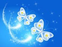 Vlinder en royalty-vrije illustratie