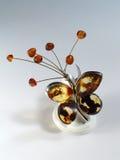 Vlinder van amber. Royalty-vrije Stock Foto