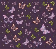 Vlinderachtergrond Royalty-vrije Stock Foto