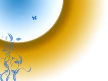 Vlinderachtergrond Royalty-vrije Stock Foto's