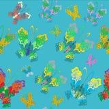 Vlinderpatroon Royalty-vrije Stock Foto's