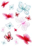 Vlinders Stock Fotografie