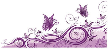 Vlinders, de zomer Royalty-vrije Stock Afbeelding