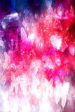 Vlinders magische regenboog grunge Stock Foto