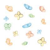 Vlinders (vector) Royalty-vrije Stock Afbeelding