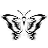 Vlinderschets stock foto