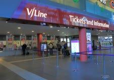 Vline-Zug Melbourne Stockbilder