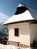 Vlkolínec winter Stock Images