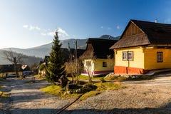 vlkolinec Словакии Стоковое Изображение RF