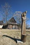Vlkolinec, Eslovaquia Fotos de archivo libres de regalías
