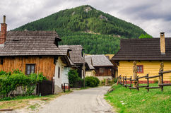 Vlkolinec - a historic village in Slovakia Royalty Free Stock Photos
