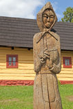 Vlkolinec - picturesque historical village, Slovak Royalty Free Stock Image