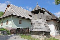 Vlkolinec - picturesque historical village, Slovak royalty free stock images