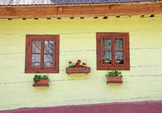 Vlkolinec - picturesque historical village, Slovak Royalty Free Stock Photography